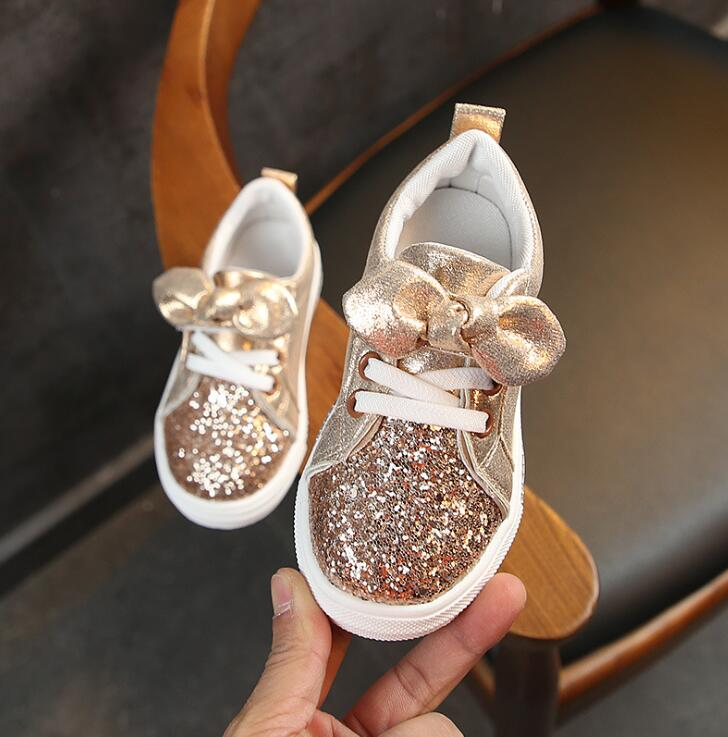 Baby Kids Shoes Girls Sneakers Glitter Toddler Girl Sneakers Soft Bottom with Crystal Kid Shoes Children Girls BlingBaby Kids Shoes Girls Sneakers Glitter Toddler Girl Sneakers Soft Bottom with Crystal Kid Shoes Children Girls Bling