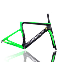 Carbon Road Bike Frame T1000 Ceccotti LOGO Full Carbon Fiber Bicycle Frame New Design Chinese Racing