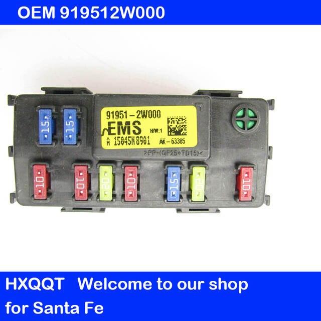Online Shop for IX45 Santa Fe 2013-2018 EMS JUNCTION BOX EMS Block