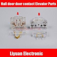 1 пара Лифт дверной замок лифт переключатель блокировки дверей Зал Дверь посадка дверь оплатить контактный лифт запчасти