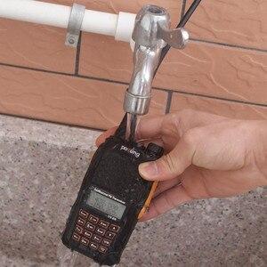 Image 3 - Рация Baofeng для охоты, радиостанция 5 Вт, УВЧ, УКВ, два диапазона, УФ 6R, Любительский радиодиапазон, обновленная рация Baofeng для охоты, высокочастотный приемопередатчик