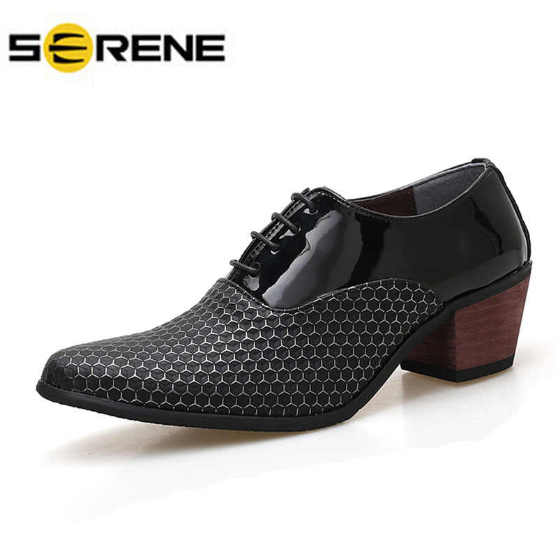 2322ab5c007 Detail Feedback Questions about Serpentine Pattern Formal Leather ...