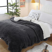 Svetanya Large Warm Thick Sherpa Throw weighted Blanket Coverlet Reversible Fuzzy Microfiber All Season for Bed or Couch(China)