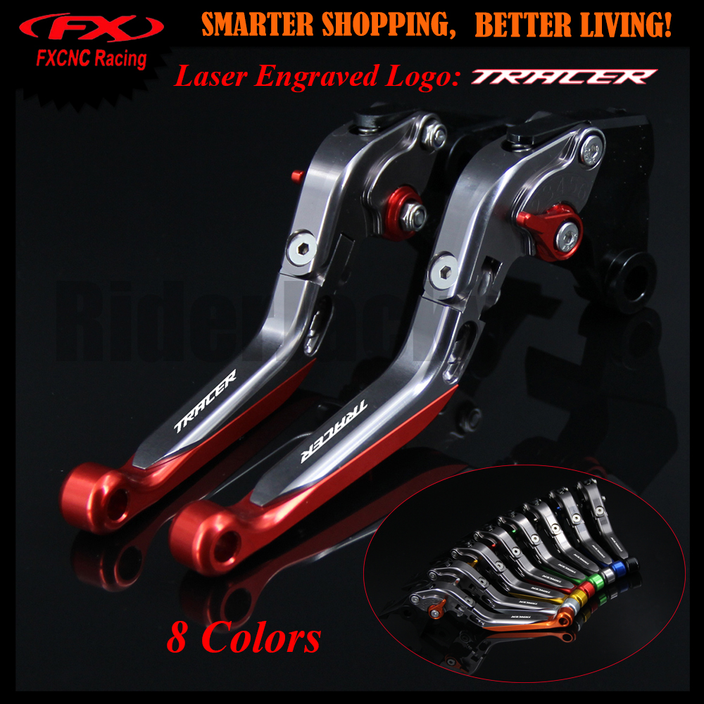 Red+Titanium For Yamaha 2014-2017 2015 2016 MT-07 MT-09 MT-10 MT07 MT09 MT10 MT 07 MT 09 MT 10 Motorcycle Brake Clutch Lever motorcycle adjustable folding extendable brake clutch lever logo mt 09 for yamaha mt09 fz 09 fz09 2014 2015 2016 titanium black
