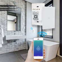Touch Control Wifi Boiler Switch 120 Type Timing Smart Home Water Heater