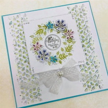 Naifumodo Frame Border Dies Flowers Metal Cutting New 2019 Craft Die Cut for Card Making Scrapbooking Embossing Stencil DIY