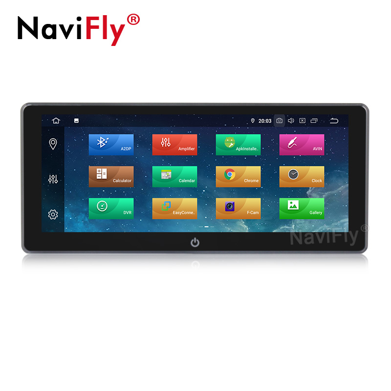 DSP IPS 10.25''Touch Screen 8Core Android9.0 Universal 2Din Car Multimedia player for Nissan TOYOTA Kia RAV4 Hyundai Peugeot