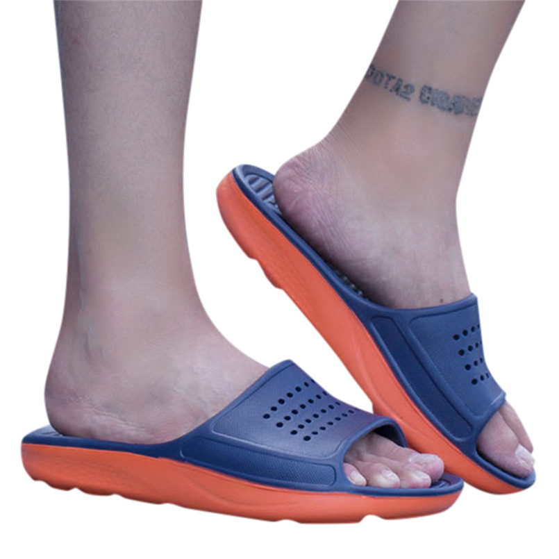 Couple Four Seasons Indoor Slip Household Slippers Outdoor Or Bathroom Slippers Shoes Mans Footwear Terlik Kapcie Slides 40jy18