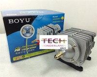 BOYU ACQ 001 electromagnetic air compressor for aquarium fish tank increase oxygen pump air pump free shipping