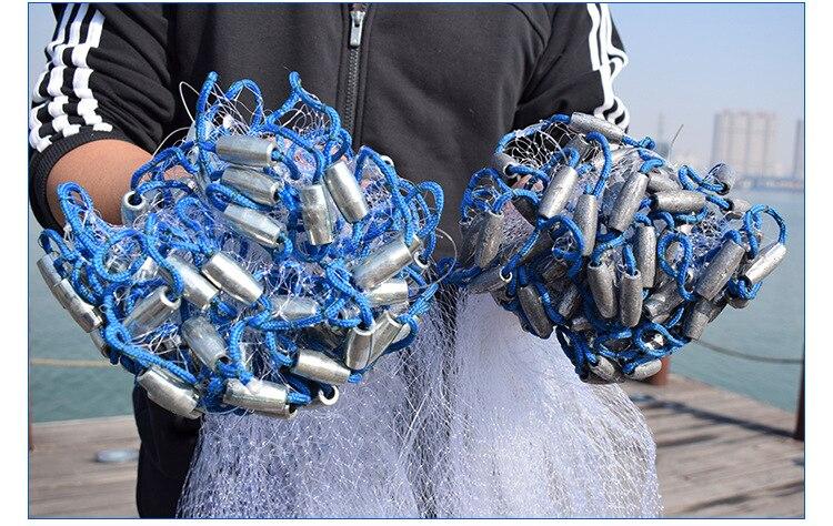 Filet de pêche à la main 2015 USA style filet de pêche senna piège à poisson filet de pêche chine pesca réseau de pêche potes herramientas nylon