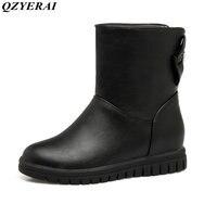 QZYERAI Nuovo arrivo inverno scarponi da neve calda gioventù moda casual stivali da donna stivali impermeabili scarpe da donna