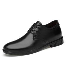 Male loafers plus size 39-48 genuine leather men casual flats waterproof dress oxford man shoes lace up for work  *8902