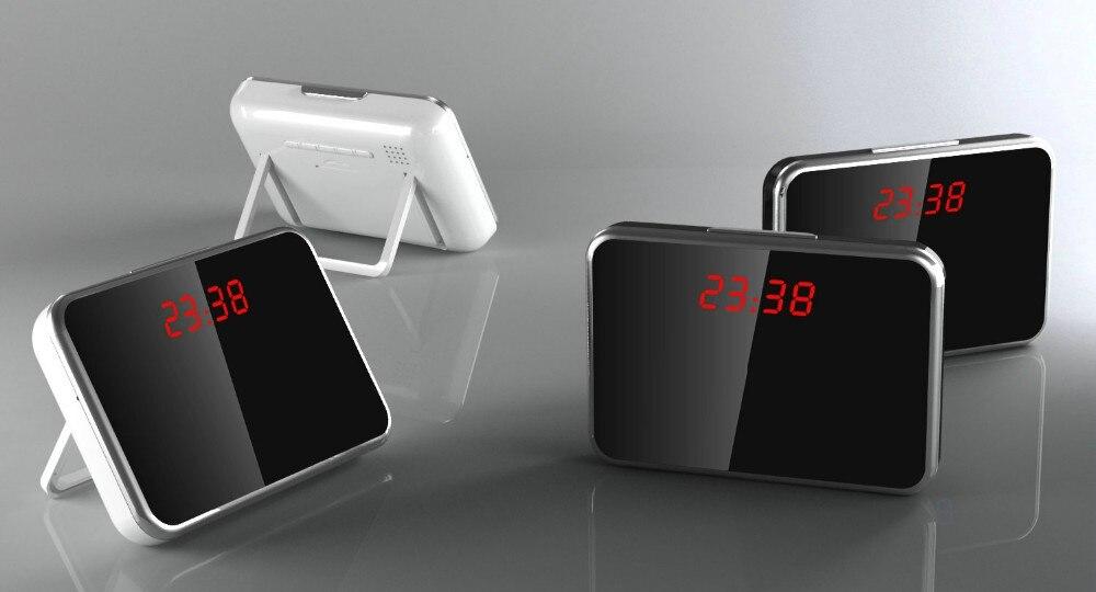 P/p/vga и qvga разрешение cmos super невидимый объектив pir настенные часы камеры.