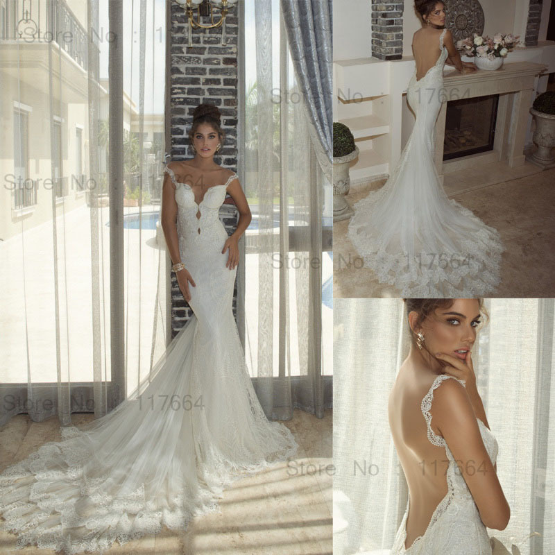Backless designer wedding dresses