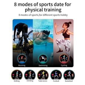 Image 5 - Cobrafly MX9 Smart Watch uomo ECG cardiofrequenzimetro pressione sanguigna Smart Wristband Fitness Tracker IP68 per Andriod Ios Phone