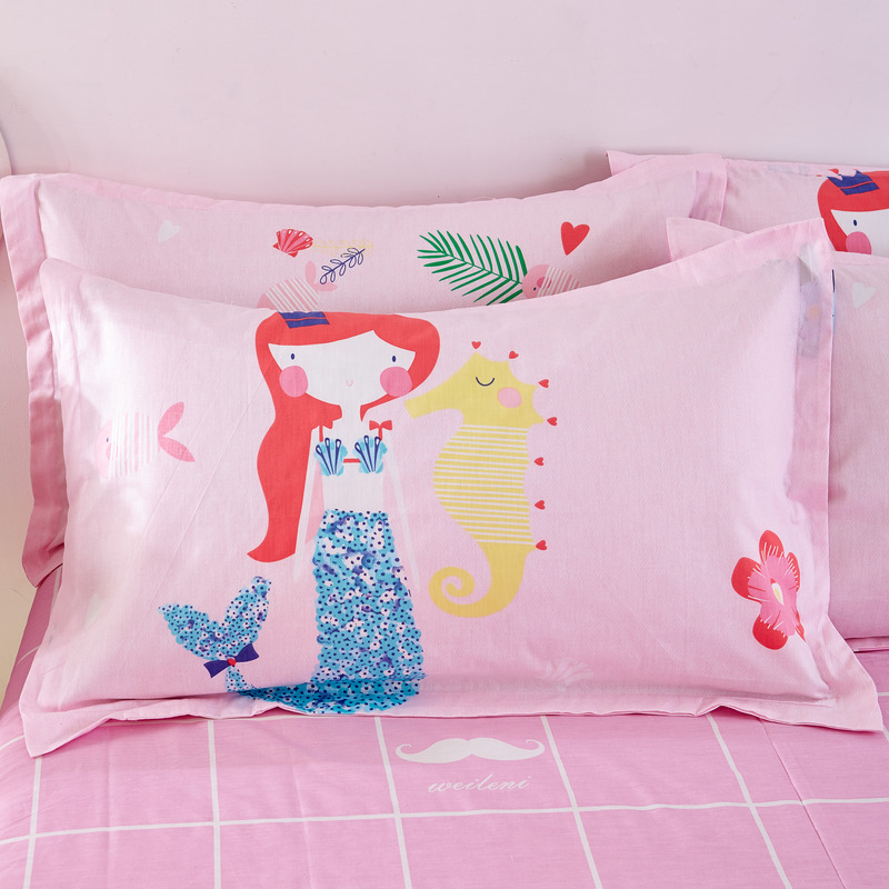 Mermaid Bedding Set 100% Cotton Linens Twin/Queen Size 3 ...