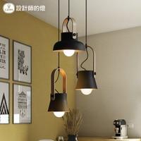Nordic Pendant Lights Wooden LED Pendant Lamp Light Fixtures Bar Cafe Restaurant for decor Loft Wood Lampshade Hanging Lights