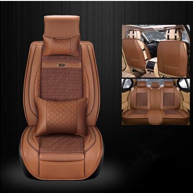2016 Nuevo y El Envío libre! conjunto completo de asiento de coche cubiertas para Mitsubishi Pajero 5 asientos 2014-2011 durable cubre asiento para Pajero 2015