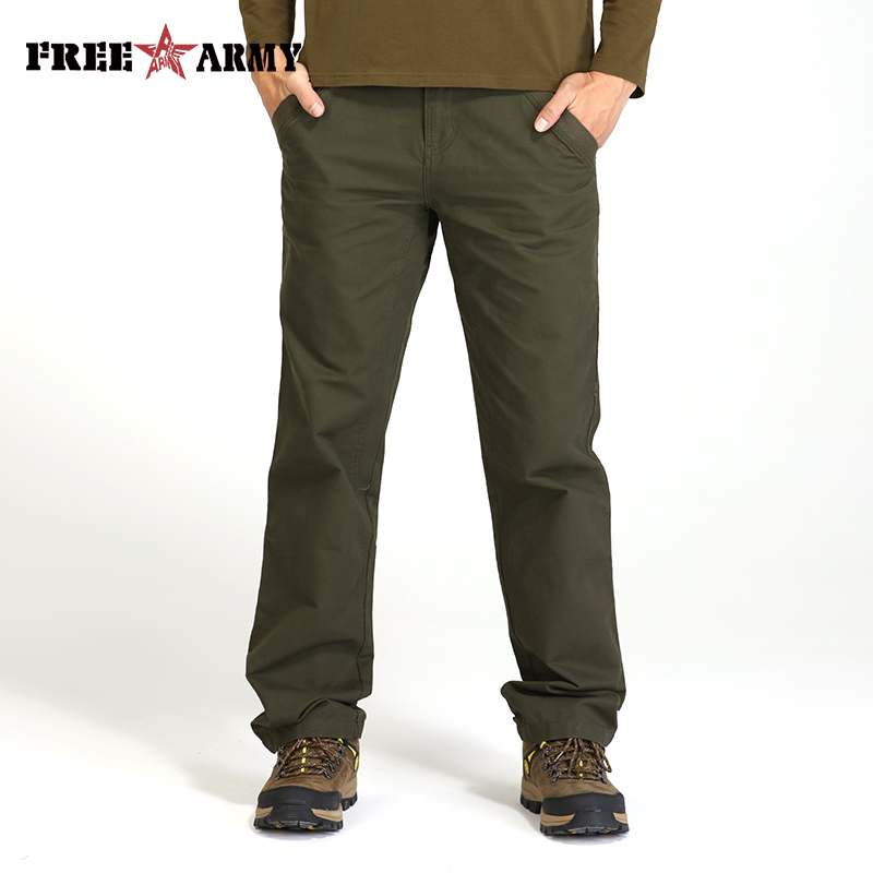 Free Army Cargo Pants Men Streetwear Pantalon Homme Trousers Men Clothes 2018 Mens Clothing Solid Simple Pants For Men MK 765