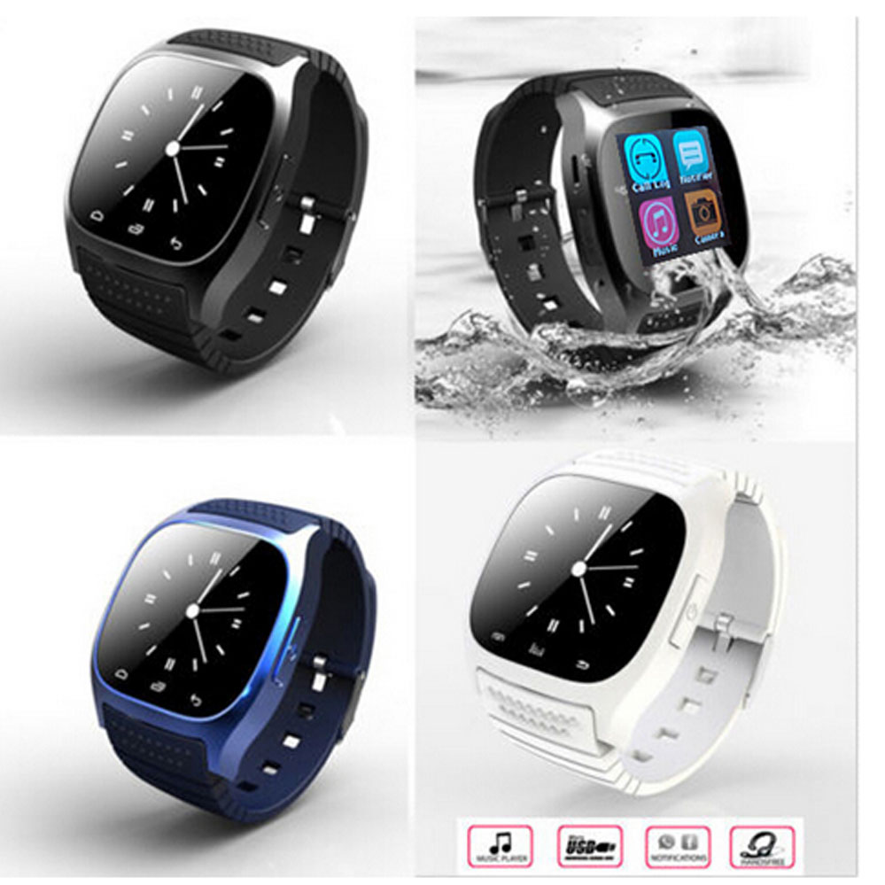 US $23 8 |Bluetooth Smart Watch M26 wearable devices smartwatch for Android  xiaomi redmi note 2 huawei samsung gear ios apple watch phone-in Smart