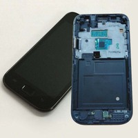 Black For Samsung Galaxy SL GT I9003 I9003 Touch Screen Digitizer Sensor Glass LCD Display Panel