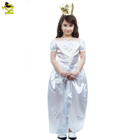 2017 New Girls Snow White Dresses Children Princess Dresses Role Play Costumes Kids Party Halloween Costume