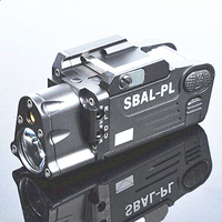 SPIRIT TACTICAL Tactical CNC Finished SBAL PL Weapon Light Constant Strobe Light With Red Laser Pistol