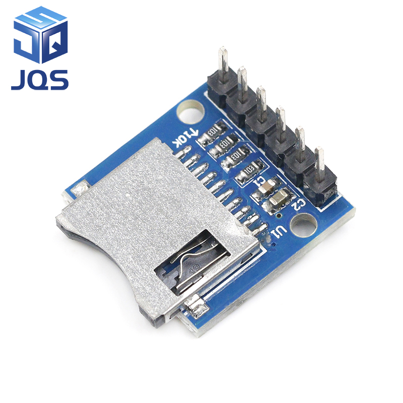 Micro SD Storage Expansion Board Mini Micro SD TF Card Memory Shield Module With Pins For Arduino
