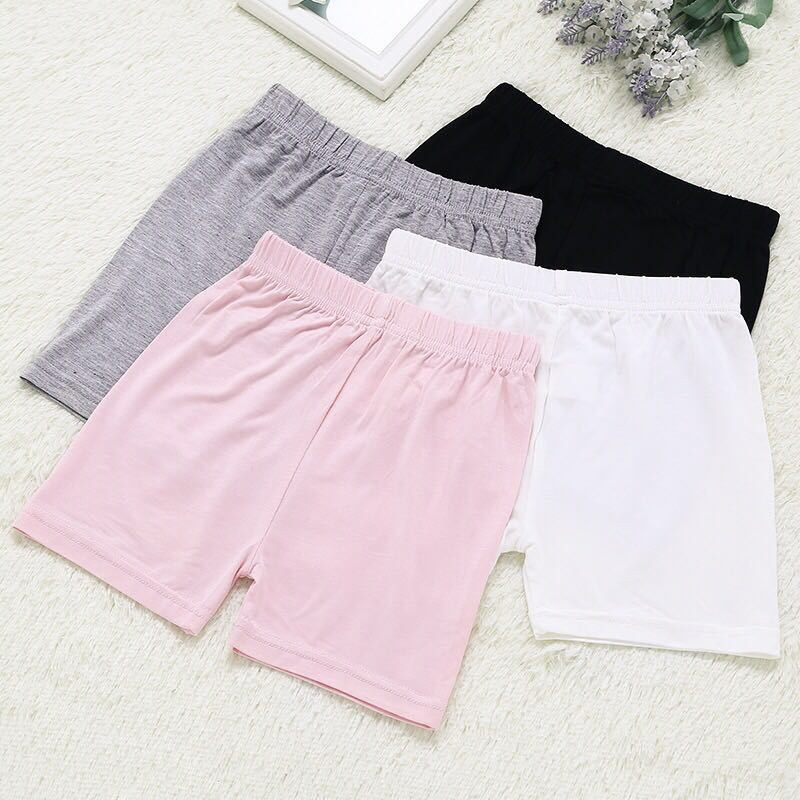 Korean Child Girls Shorts Modal Pants Children Girls Shorts Safe Shorts