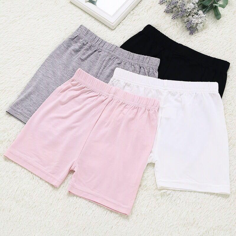 Korean Child Girls Shorts Modal Pants Children Girls Shorts Safe Shorts