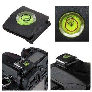 Image 1 - 2 ピース/ロットアンチダストホットシューバブル水準器キヤノンニコンオリンパスカメラ一眼レフ