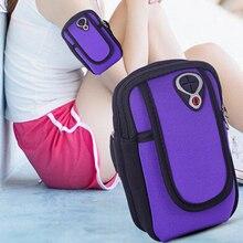 Универсальный держатель сумки для мобильного телефона Спорт на открытом воздухе ручной фонарик сумка для телефона на руку Спортивная Беговая повязка для Iphone7