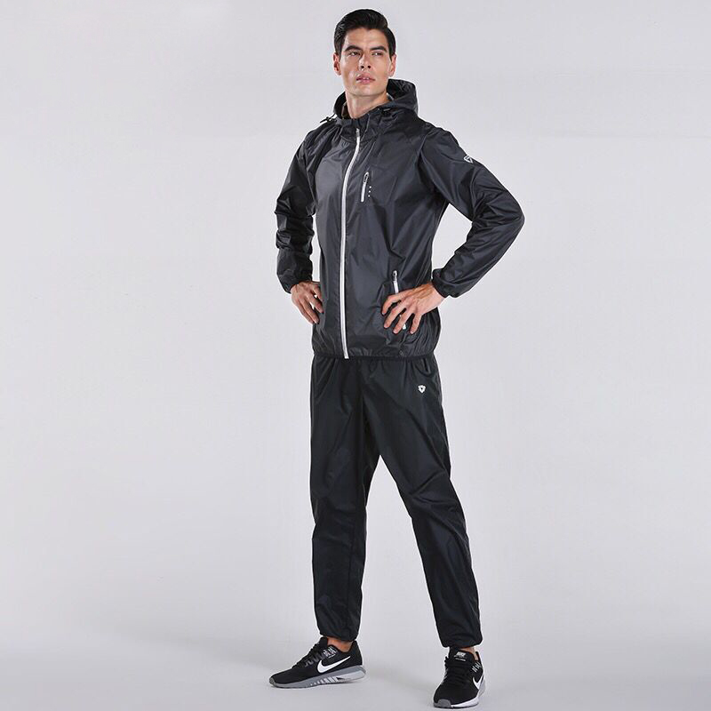 Hot Sweat Sport Suit Men Running 2PCS Workout Exercise Training Sets Gym Tracksuits Fitness Jogging Suits Sportswear Plus Size lefan 2018 sport suits 3pcs men elastic running fitness sets male training sportswear clothes set gym tracksuits tight leggings