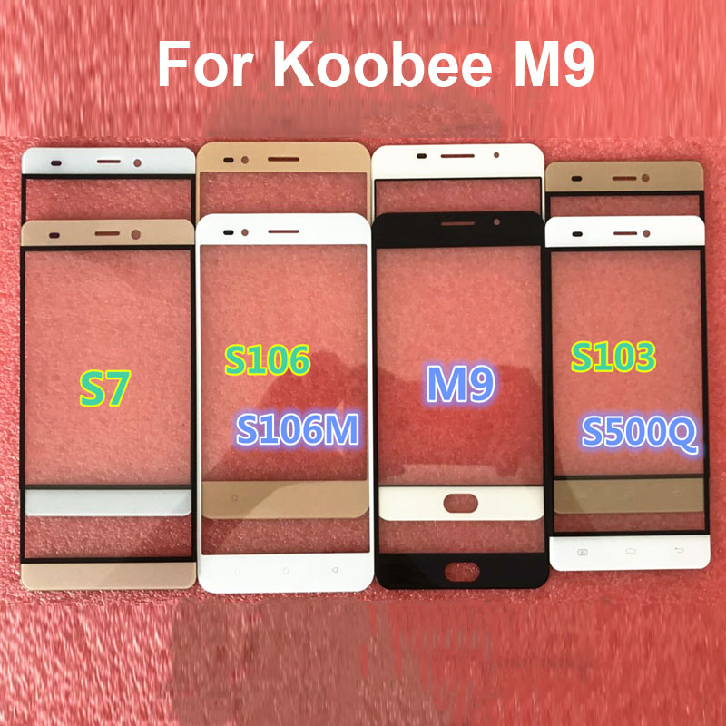For Koobee M9 M 9 KoobeeM9 Touch Panel Screen Digitizer Glass Sensor Touch Without Flex
