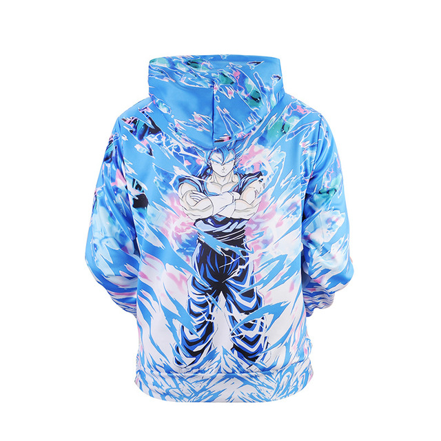 GOKU SUPER SAIYAN 3D HOODIES