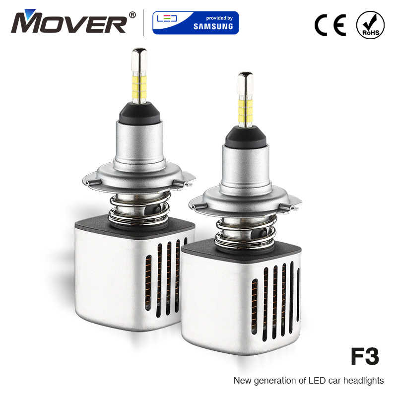 Car Headlight Bulbs LED Provided By SAMSUNG H7 LED H1 H3 H4 H8 H9 H11 9005 HB3 9006 Car Styling Auto Headlight 5000K Automotivo