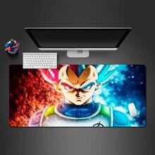 Мультяшный Dragon Ball Goku Аниме Коврик для мыши игровой Мастер Игровой коврик офисная компьютерная клавиатура настольные коврики домашний практичный коврик для мыши