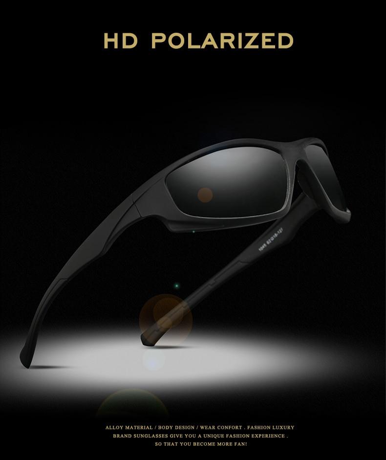 Men/'s Polarized Photochromic Sunglasses Driving Transition Lens Sunglasses new