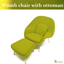 U BEST Hotel Lounge Replica Eero Saarinen Womb Style Chair