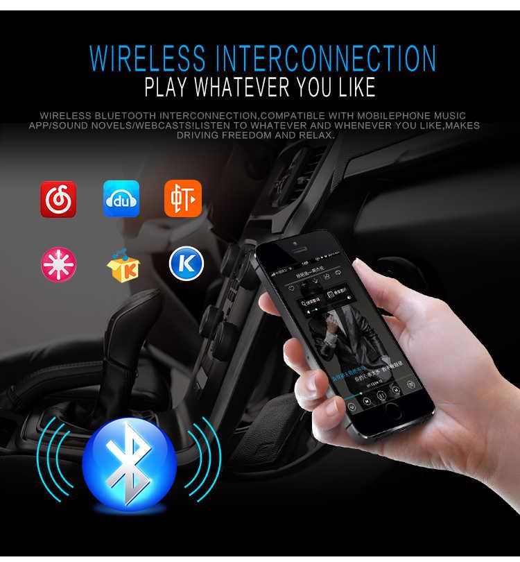 Autoradio JSD520 車ラジオステレオプレーヤーデジタル Bluetooth MP3 60Wx4 FM オーディオダッシュ AUX 入力