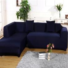 Elastische Sofa Abdeckung Solid Color Abdeckung Für Sofa Ausdehnung Einzel/Zwei/Drei/Vier-Sitzer New Shop sohle