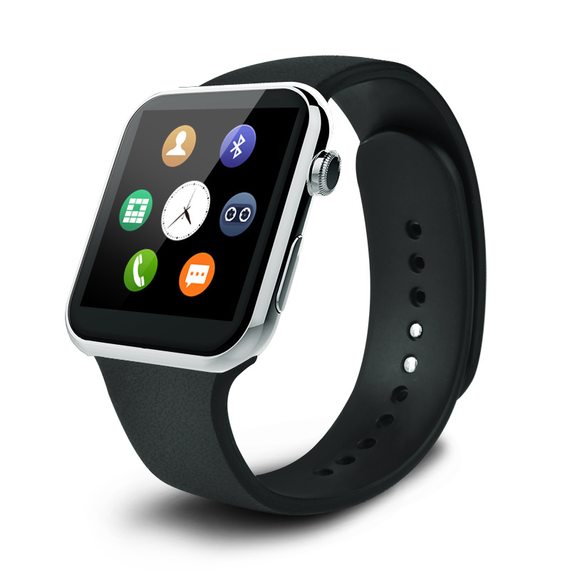 Plaza LW07 Smartwatch Bluetooth 3.0 Reloj para Android Teléfono Inteligente Poli