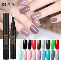 Розалинд новые косметика парфюмерия диспенсер 5 мл 58 Цвет лак для ногтей Ручка кисти гель для ногтей с блестками лак Гибридный телячьей