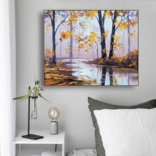 Scenery Famous Canvas Painting Calligraphy By Graham Poster Prints Living Room House Wall Decor Art Home Decoration Picture