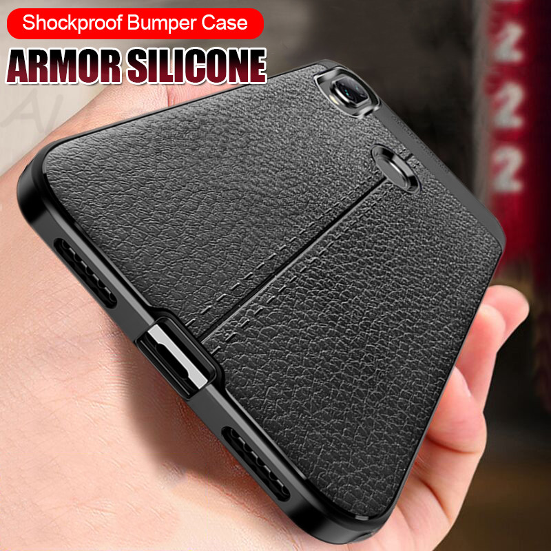 TPU Case Soft-Silicone Xiaomi Redmi Pattern-Cover Full-Protection For Note-7/5-pro-case/Leather