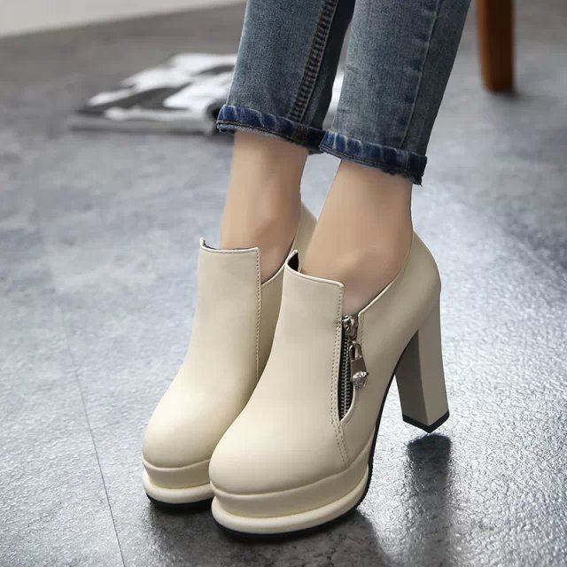 64bcc686df45fe Forme Sexy 2016 Mode Hiver Plate Femme Femmes Automne Chaussures tFFv8Rw