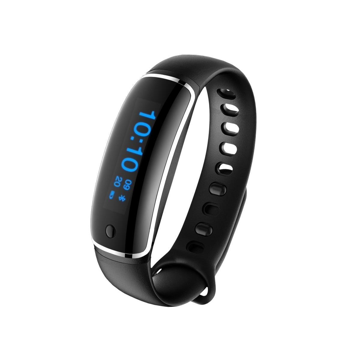 2017 NEW LYNWO M4 Smart Bracelet Blood pressure Dynamic Heart Rate Sports Fitness Tracker Smart Wristband