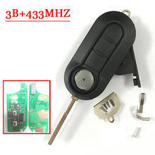 3 Buttons Remote Key For Fiat Delphin PCF7946 Chip 433MHZ