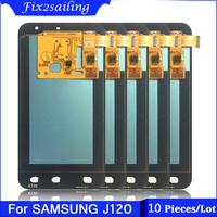 10 Pieces/Lot Super AMOLED LCD For Samsung Galaxy J1 2016 J120 J120F J120DS J120G J120M J120H LCD Display Touch Screen Digitizer