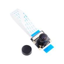 For Raspberry Pi A/B Camera Module Board 5MP 160 Wide Angle Fish Eye + Night Vision Surveillance Lenses